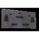 120 cm Lochwand mit 17 teiligem Hakenset